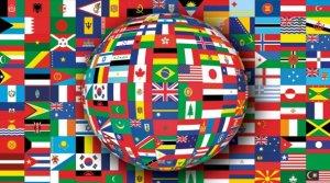 International Flag Tag